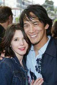 Sabrina Lloyd and Mark Decena at the San Francisco Film Festival.