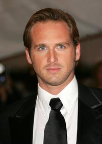 Josh Lucas at the Metropolitan Museum of Art Costume Institute Benefit Gala: Anglomania.