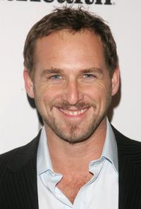 Josh Lucas at the Men's Health & Best Life exhibition.