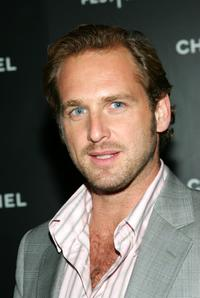 Josh Lucas at the Chanel Tribeca Film Festival Dinner.