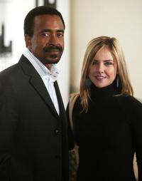Tim Meadows and his guest at the 25th annual Muse Awards.