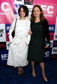 Parker Posey and Zoe Cassavetes at the IFC party celebrating the spirit of independent film.