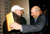 Bruce Dern and Jon Gries at the premiere of Warner Bros Pictures