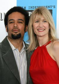 Laura Dern and Ben Harper at the 22nd Annual Film Independent Spirit Awards.