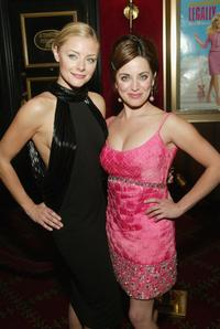 Jessica Cauffiel and Alanna Ubach at the premiere of