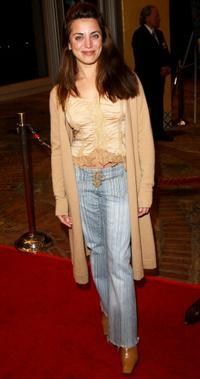 Alanna Ubach at the premiere of