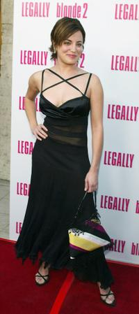 Alanna Ubach at the screening of