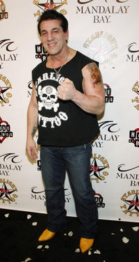 Chuck Zito at the grand opening of Mario Barth's Starlight Tattoo in Nevada.