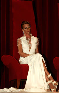 Maruschka Detmers at the opening ceremony of the 44th Monte-Carlo Television Festival.