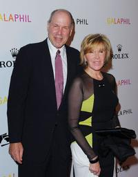 Michael Eisner and Jane Breckenridge at the Inaugural Gala of the Los Angeles Philharmonic.