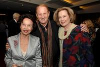 Leslie Caron, Mike Medavoy and Diane Baker at the Academy Salute to Leslie Caron.