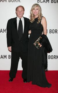Mike Medavoy and Irena Medavoy at the opening of Broad Contemporary Art Museum in California.