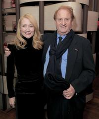 Patricia Clarkson and Mike Medavoy at the after party of the special screening of