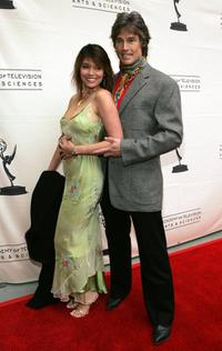 Devin DeVasquez and Ronn Moss at the 33rd Annual Daytime Creative Arts Emmy Awards.