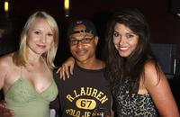 Alana Curry, Clinton Wallace and Devin DeVasquez at the after party of the premiere of