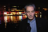 Paul Auster at the presentation of
