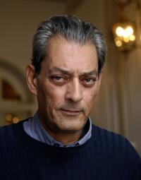 Paul Auster at the promotion of