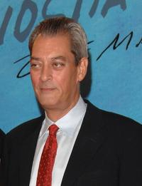 Paul Auster at the 55th San Sebastian Film Festival Opening Night.