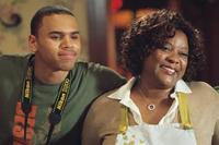 Chris Brown and Loretta Devine in