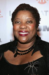 Loretta Devine at the party honoring Golden Globe nominees of