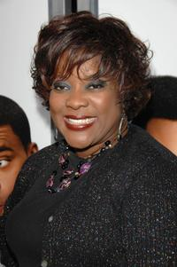 Loretta Devine at the world premiere of