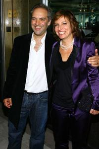 Sam Mendes and Susanne Bier at the after party of the premiere of