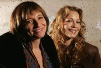 Susanne Bier and Connie Nilsen at the 2005 Sundance Film Festival.