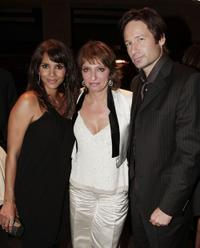 Halle Berry, Susanne Bier and David Duchovny at the after party of the premiere of