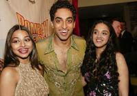 Ayesha Dharker, Manu Narayan and Anisha Nagarajan at the opening night after party of