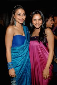 Ayesha Dharker and Ramya at the party of
