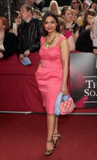 Ayesha Dharker at the British Soap Awards 2009.
