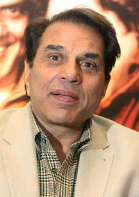 Dharmendra at the promotional programme of