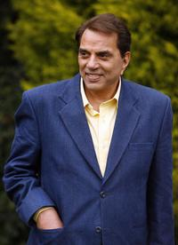 Dharmendra at the promotion of