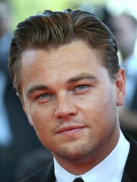 Leonardo DiCaprio at the screening of