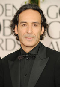 Alexandre Desplat at the 68th Annual Golden Globe Awards.