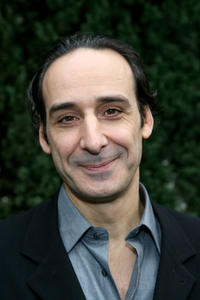 Alexandre Desplat at the Society of Composers & Lyrics Pre-Oscar Champagne Reception.