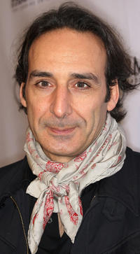 Alexandre Desplat at the Parmigiani Watches and Raffone Luggage Sony Pictures Classic Oscar party.