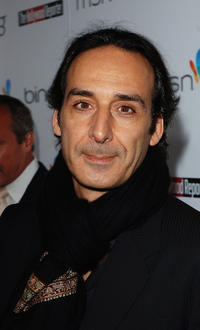 Alexandre Desplat at the Hollywood Reporter's Oscar Nominee Dinner.