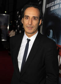 Composer Alexandre Desplat at the California premiere of