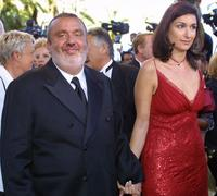 Dominique Farrugia and his wife at the 56th Cannes film festival.