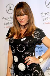 Robin Antin at the Mercedes Benz Fashion Week.