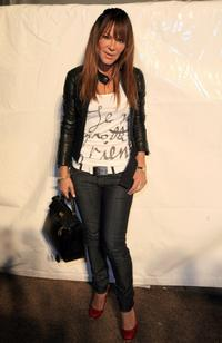 Robin Antin at the Mercedes-Benz Fashion Week.