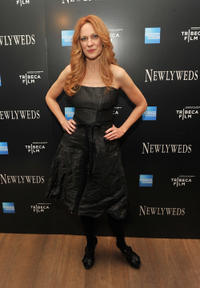 Marsha Dietlein at the New York premiere of