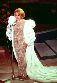 Marlene Dietrich at the Grand Gala du Disque.