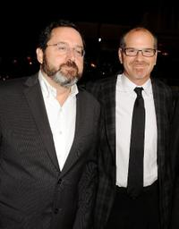 Michael Barker and Richard J. Lewis at the screening of