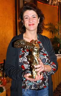 Noemie Lvovsky at the 61st Louis-Delluc Awards.