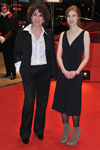 Noemie Lvovsky and Agathe Bonitzer at the German premiere of