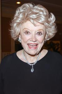 Phyllis Diller at the Junior League of Los Angeles Carnivale Gala.