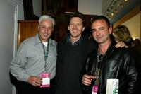 Producer John Scaccia, Andrew McCarthy and Jeff Mazzola at the Kodak Producers' Reception during the 2004 Tribeca Film Festival.