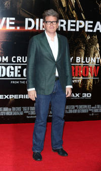 Christopher McQuarrie at the England premiere of